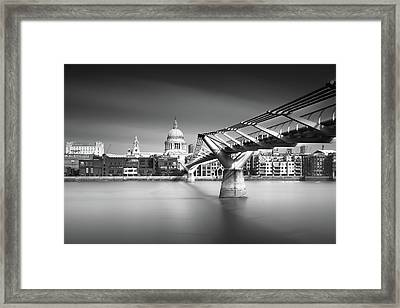 St. Pauls Framed Print by Ivo Kerssemakers