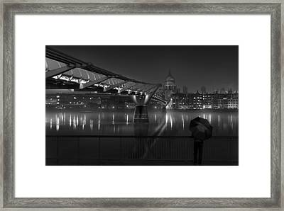 St Pauls Framed Print by Peter Davidson