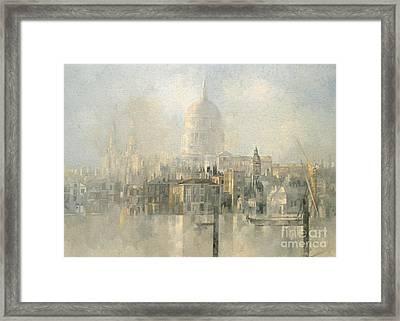 St Paul's Framed Print by Peter Miller