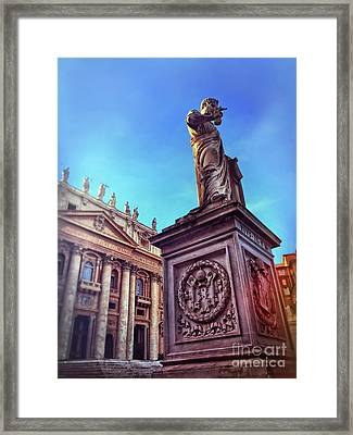 St Peter Framed Print by HD Connelly