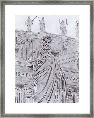 St. Peter Framed Print