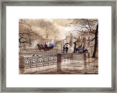 St. Petersburg II Framed Print by Svetlana and Sabir Gadghievs