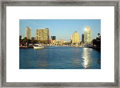 St Petersburg Florida Framed Print