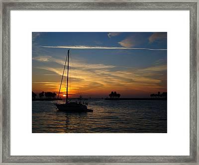 St. Petersburg Sunrise Framed Print