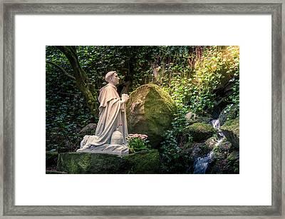 St Philip Benizi Framed Print