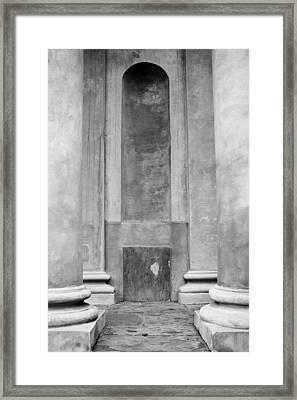 St. Philips Church Pillars II Framed Print by Dustin K Ryan