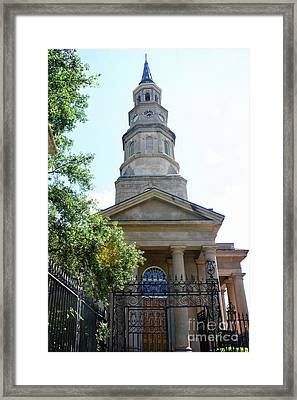 St. Phillips Episcopal Church, Charleston, South Carolina Framed Print