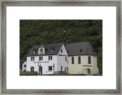 St Sebastian Church Ehrenthal Germany Framed Print