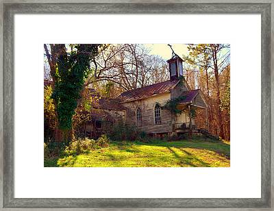 St Simon Church Peak Sc Framed Print