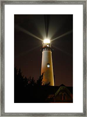St Simons Island Lighthouse Framed Print
