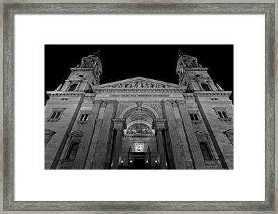 St. Stephen's Basilica 2 Framed Print