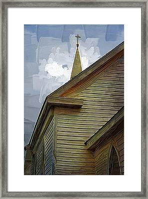 St. Teresa Bodega Bay Framed Print