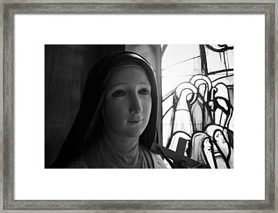Framed Print featuring the photograph St. Therese Of Lisieux by Jeanette O'Toole