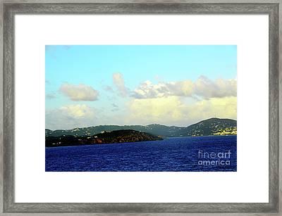 St Thomas At Dawn 2 Framed Print by Robyn King