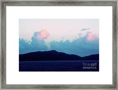 St Thomas At Dawn Framed Print by Robyn King