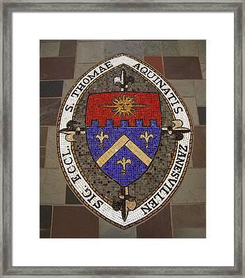 St Thomas Framed Print by Laura K Aiken