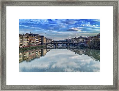 St. Trinity Bridge Framed Print