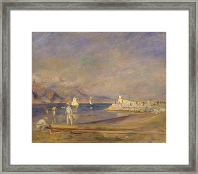 St. Tropez 1902 - 1902 Framed Print by Pierre Auguste Renoir