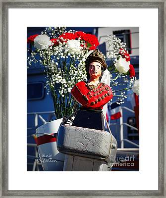 St Tropez On Board Framed Print