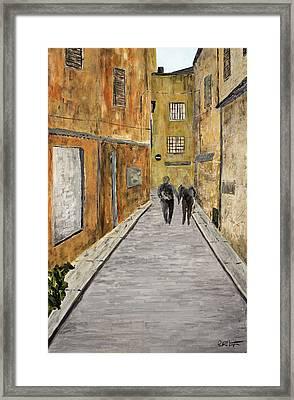 St. Tropez Framed Print by Paul Harrington