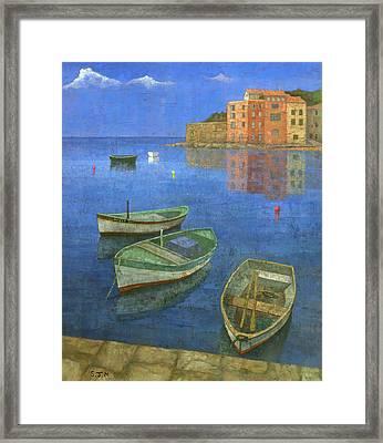 St. Tropez Framed Print by Steve Mitchell