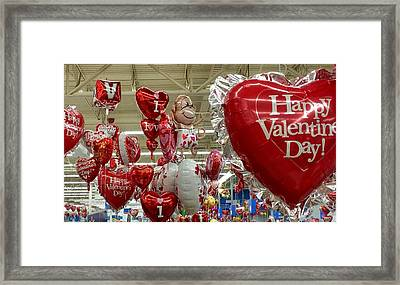 St Valentin Framed Print