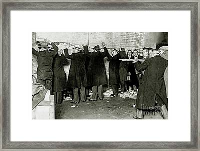 St Valentines Day Massacre Framed Print by Jon Neidert