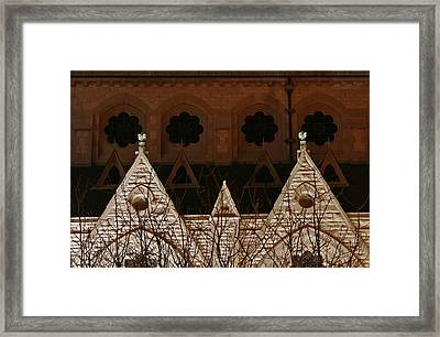 St. Xavier Side At Night Framed Print