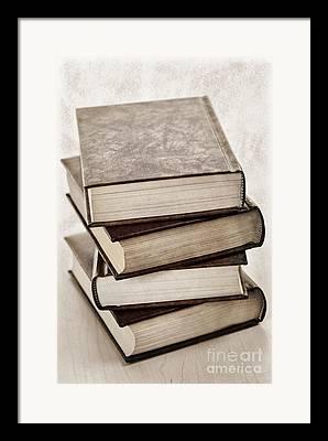 Book Photographs Framed Prints
