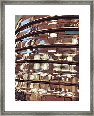 Stacked Copper Containers Framed Print by Tom Gowanlock