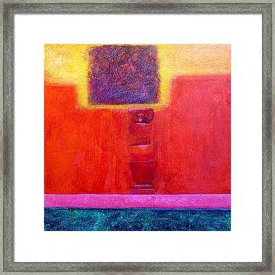 Stacked Cups Framed Print by Dale  Witherow