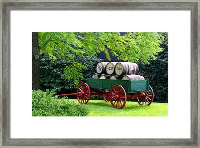 Stacked In Time Framed Print by Wayne Stacy
