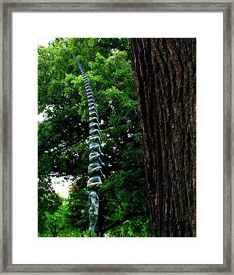 Stacking Infinity Framed Print