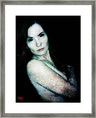 Framed Print featuring the digital art Stacy 2 by Mark Baranowski