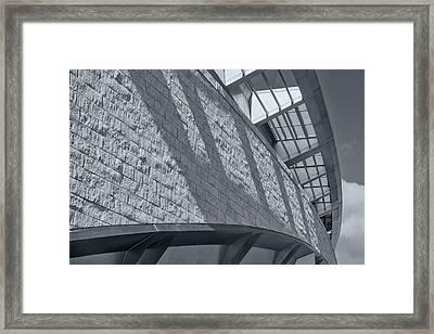 Stadium Abstract Framed Print