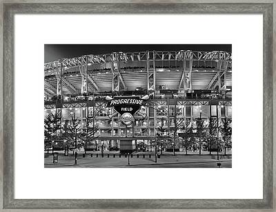 Stadium Black And White Framed Print by Frozen in Time Fine Art Photography