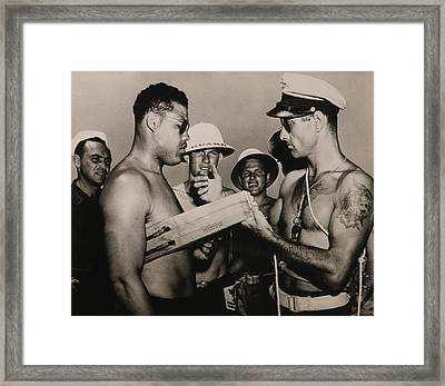 Staff Sergeant Joe Louis, World Framed Print