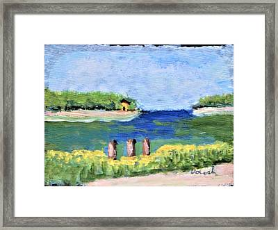 Stafford Creek Framed Print