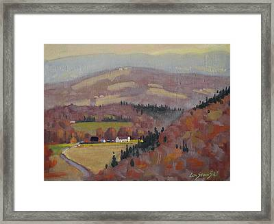 Stafford Hill From The Glen 2 Framed Print