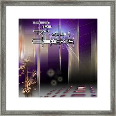 Stage Framed Print
