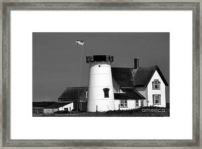 Stage Harbor Ma Framed Print by Skip Willits