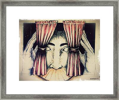 Stage Of Life Framed Print by Paulo Zerbato