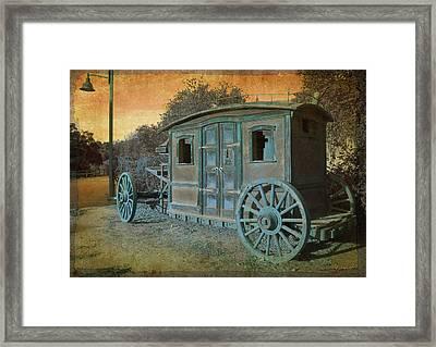 Stagecoach Framed Print by Bill Jonas