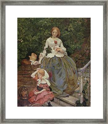 Stages Of Cruelty Framed Print by Ford Brown