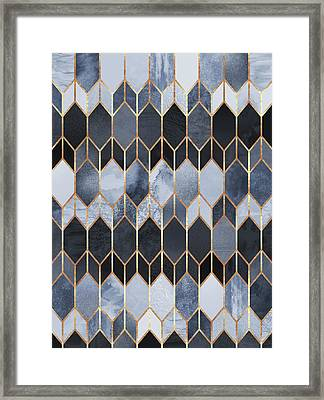 Stained Glass 4 Framed Print by Elisabeth Fredriksson