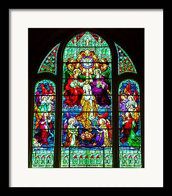 Our Lady Star Of The Sea Framed Prints