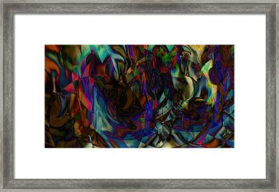 Stained Glass Framed Print by Joshua Sunday