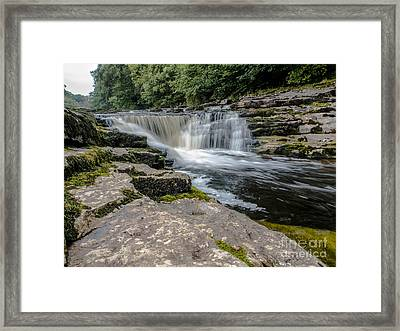 Stainforth Force Framed Print by Peter Stuart