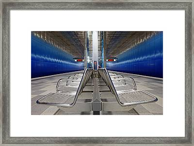 Stainless Steel Framed Print by Martin Fleckenstein