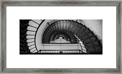 Stair Master Framed Print